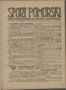 Sport Pomorski 1927, R. 3 nr 28