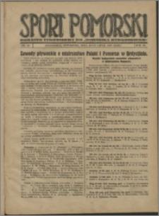 Sport Pomorski 1927, R. 3 nr 30