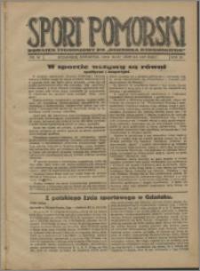 Sport Pomorski 1927, R. 3 nr 33