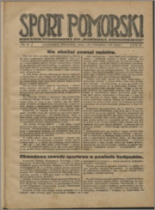 Sport Pomorski 1927, R. 3 nr 35