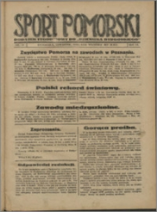 Sport Pomorski 1927, R. 3 nr 36