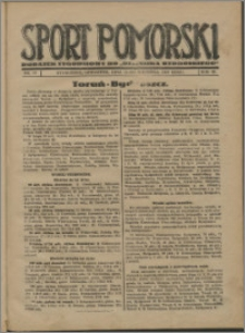 Sport Pomorski 1927, R. 3 nr 37