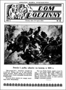 Dom Rodzinny : dodatek tygodniowy Słowa Pomorskiego, 1931.07.19 R. 7 nr 29