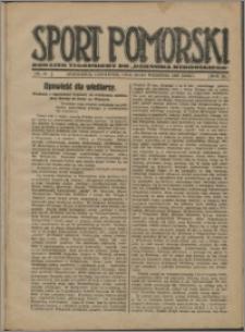 Sport Pomorski 1927, R. 3 nr 39