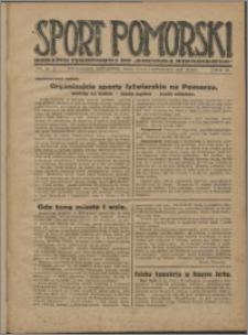 Sport Pomorski 1927, R. 3 nr 45