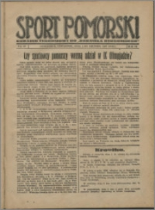 Sport Pomorski 1927, R. 3 nr 48