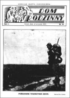 Dom Rodzinny : dodatek tygodniowy Słowa Pomorskiego, 1931.08.15 R. 7 nr 33