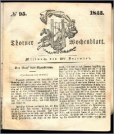 Thorner Wochenblatt 1843, No. 95 + Beilage
