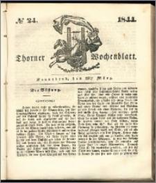 Thorner Wochenblatt 1844, No. 24 + Beilage, Thorner wöchentliche Beitung