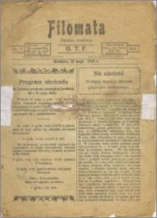 Filomata R. 1923, No 11