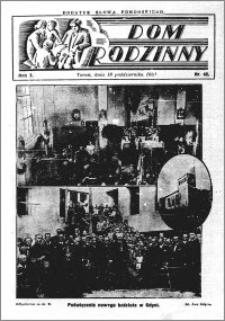Dom Rodzinny : dodatek tygodniowy Słowa Pomorskiego, 1931.10.18 R. 7 nr 42
