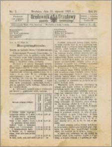 Orędownik Urzędowy powiatu brodnickiego R. 1925, Nr 2