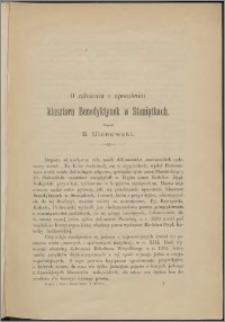 O założeniu i uposażeniu klasztoru Benedyktynek w Staniątkach