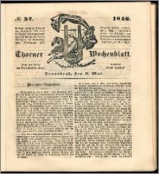 Thorner Wochenblatt 1846, No. 37 + Beilage
