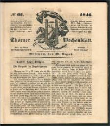 Thorner Wochenblatt 1846, No. 66 + Beilage