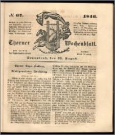 Thorner Wochenblatt 1846, No. 67 + Beilage