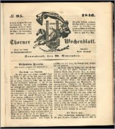 Thorner Wochenblatt 1846, No. 95 + Beilage, Zweite Beilage