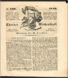 Thorner Wochenblatt 1846, No. 100 + Beilage