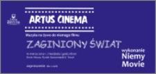 """Artus Cinema : muzyka na żywo do niemego filmu """"Zaginiony świat"""" : 10 marca 2013 r. : zaproszenie dla 2 osób"""