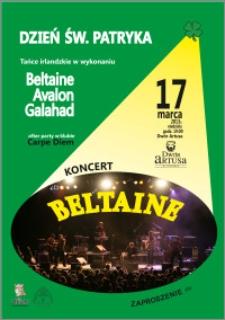 Dzień św. Patryka : tańce irlandzkie w wykonaniu Beltaine Avalon Galahad : 17 marca 2013 r. : zaproszenie dla 1 osoby