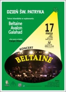 Dzień św. Patryka : tańce irlandzkie w wykonaniu Beltaine Avalon Galahad : 17 marca 2013 r.
