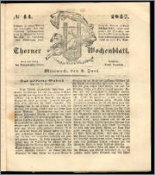 Thorner Wochenblatt 1847, No. 44 + Beilage