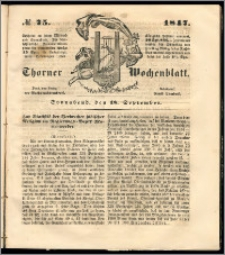 Thorner Wochenblatt 1847, No. 75 + Beilage, Zweite Beilage