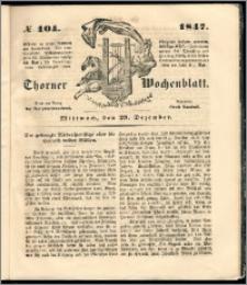 Thorner Wochenblatt 1847, No. 104 + Beilage