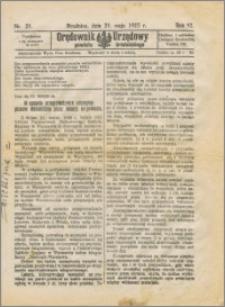 Orędownik Urzędowy powiatu brodnickiego R. 1925, Nr 28