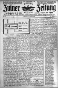 Zniner Zeitung 1912.01.03 R. 25 nr 1