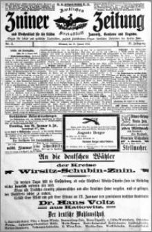 Zniner Zeitung 1912.01.10 R. 25 nr 3