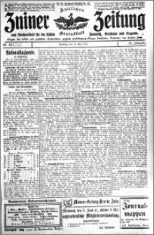 Zniner Zeitung 1912.05.29 R. 25 nr 43