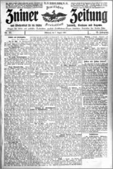 Zniner Zeitung 1912.08.07 R. 25 nr 63
