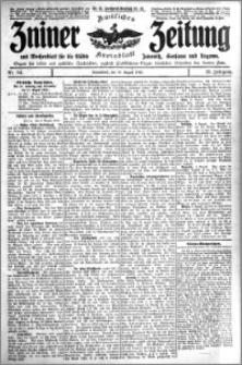 Zniner Zeitung 1912.08.10 R. 25 nr 64