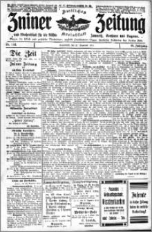 Zniner Zeitung 1912.12.21 R. 25 nr 102