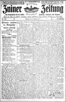 Zniner Zeitung 1912.12.25 R. 25 nr 103