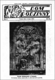 Dom Rodzinny : dodatek tygodniowy Słowa Pomorskiego, 1932.05.08 R. 8 nr 19