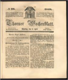 Thorner Wochenblatt 1848, No. 28 + Beilage