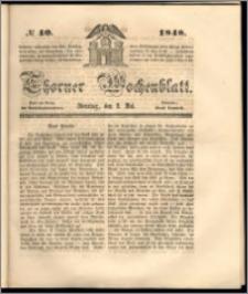 Thorner Wochenblatt 1848, No. 40