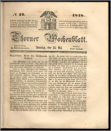 Thorner Wochenblatt 1848, No. 49 + Beilage