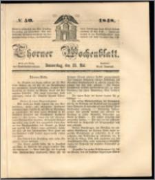 Thorner Wochenblatt 1848, No. 50 + Beilage
