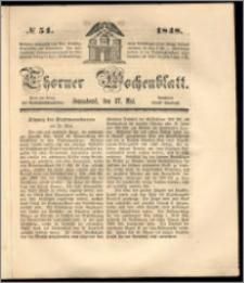 Thorner Wochenblatt 1848, No. 51 + Beilage