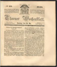 Thorner Wochenblatt 1848, No. 52 + Beilage