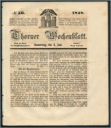 Thorner Wochenblatt 1848, No. 56 + Beilage