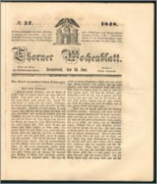 Thorner Wochenblatt 1848, No. 57 + Beilage