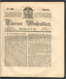 Thorner Wochenblatt 1848, No. 59 + Beilage
