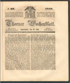 Thorner Wochenblatt 1848, No. 60 + Beilage