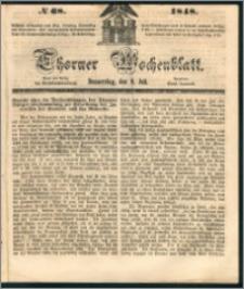 Thorner Wochenblatt 1848, No. 68 + Beilage