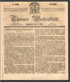 Thorner Wochenblatt 1848, No. 69 + Beilage