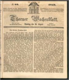 Thorner Wochenblatt 1848, No. 88 + Beilage